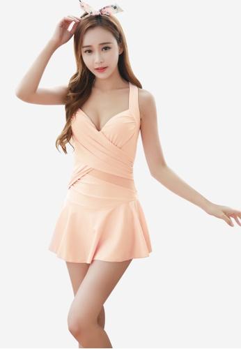 Halo pink Pink Swimsuits Bikini HA405US0FTS9SG_1