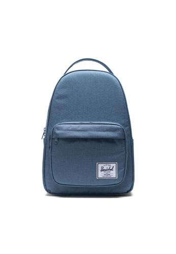 Herschel blue Herschel Unisex Miller Backpack Blue Mirage Crosshatch - 32L B75ACAC38E2974GS_1
