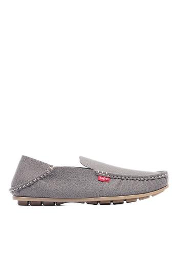 Life8 grey Washable 2-ways causal shoes-09690-Grey LI283SH0GM4ISG_1