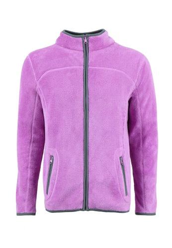 Universal Traveller purple Universal Traveller Adult Unisex Fleece Jacket / SWEATER - PURPLE- FJ 5601 UN858AA0RBR6MY_1