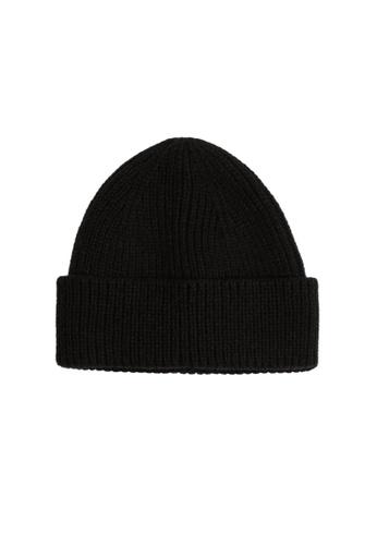 MANGO Man black Knit Beanie D885BAC3D2C3A9GS_1