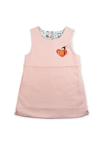 Vauva pink Vauva Girls Stars One-Piece Dress - Pink D0B02KA33B515BGS_1