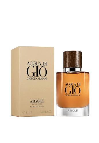 Giorgio Armani Giorgio Armani Acqua Di Gio Absolu EDP 40ml (With FREE Gift) 8C5BBBE8590168GS_1