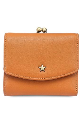 niko and ... orange Gamaguchi Mini Wallet B1538ACE3DD293GS_1