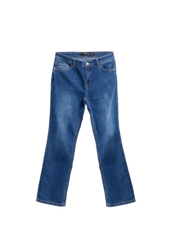 LC Waikiki blue Regular Leg Jeans 5A6C8AABFF610DGS_1