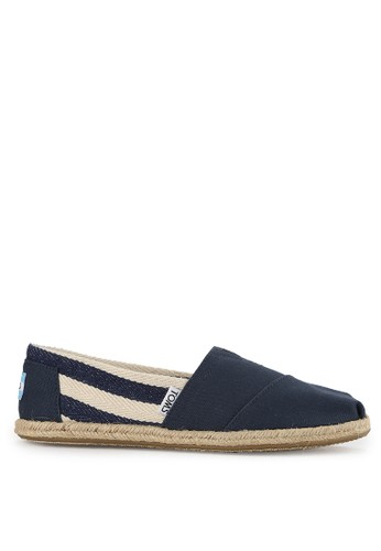 TOMS multi and navy Mf Navy Stripe University Mn Clsc TO159SH0VUYOID_1