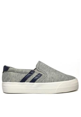 Twenty Eight Shoes grey Soft Cotton Slip On TW446SH15DNKHK_1