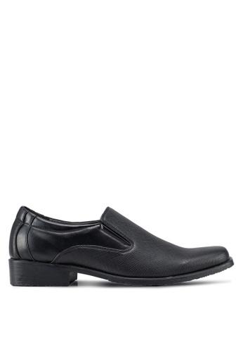 Rocklander black Formal Slip On Shoes 89FEBSH8F85904GS_1