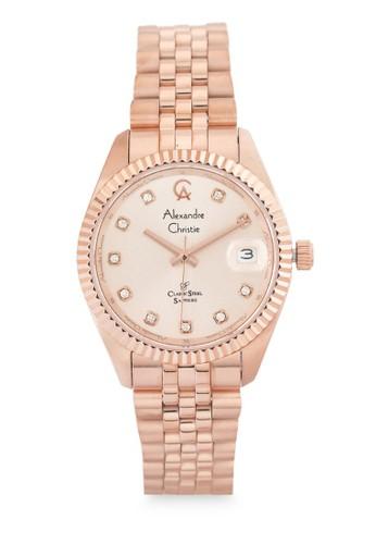 Alexandre Christie gold Alexandre Christie Jam Tangan Wanita - Rosegold - Stainless Steel - 5013 LDBRGLN 780F8AC0EDB654GS_1