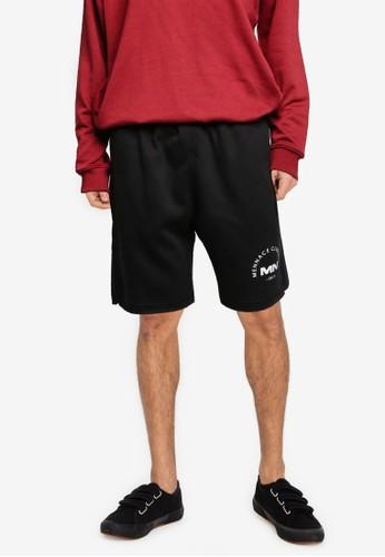 Mennace black Club Est Shorts B9E18AAC6C1A4AGS_1