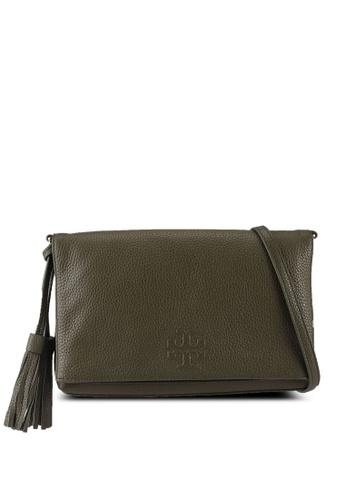 TORY BURCH 綠色 Thea Foldover Crossbody Bag (NT) E8327AC449C8A1GS_1