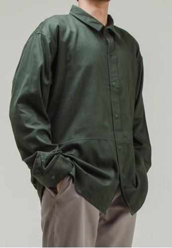 THE GOODS DEPT green ANDERS - Peter Long Sleeve Shirt Green 0286FAADD8A844GS_1