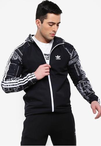 cb04315e adidas black adidas original wb bandana hood jacket 52535AAE6A6687GS_1