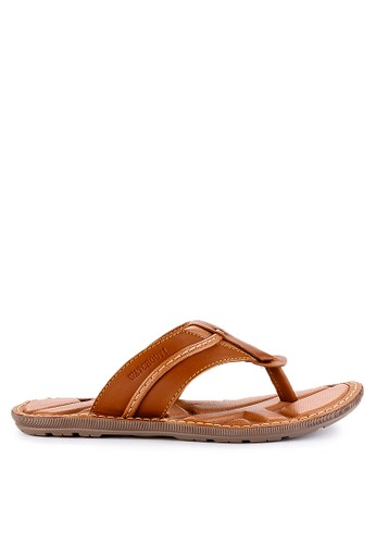 Watchout! Shoes brown Sandals Thong 3343BSH109EF34GS_1