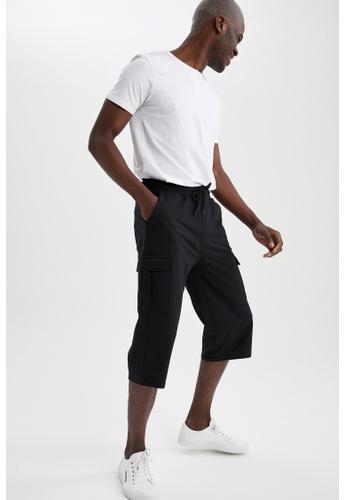 DeFacto black Regular Fit Roller Short C03F0AAAFFA7D0GS_1