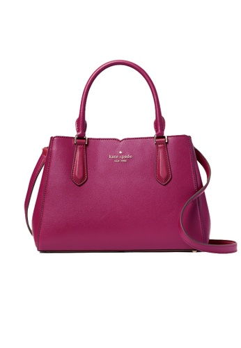 Kate Spade red Kate Spade Tippy Small Triple Compartment Satchel WKRU6706 Cranberry 0D416AC29A8092GS_1