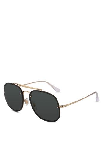 Ray-Ban 金色 RB3583N Sunglasses 7AC4AGL1D9AB77GS_1