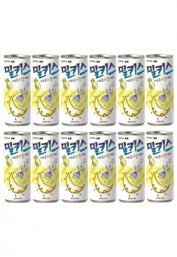 Lotte Chilsung Beverage Lotte Milkis Pineapple Soda - Multipack (12 x 250ml) 47DF2ESB58575CGS_1