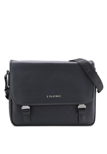 Playboy black Playboy Sling Bag PL371AC02MSVMY_1