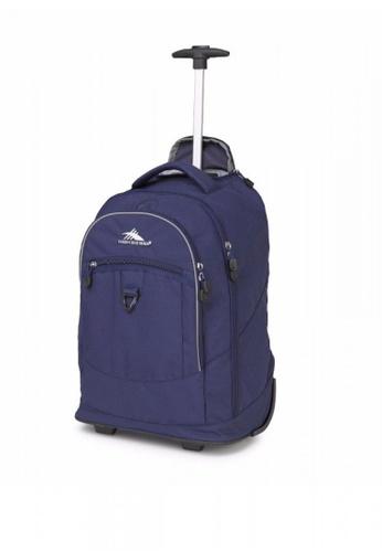 High Sierra navy Chaser Wheeled Backpack FCEFBAC1E64AC2GS_1