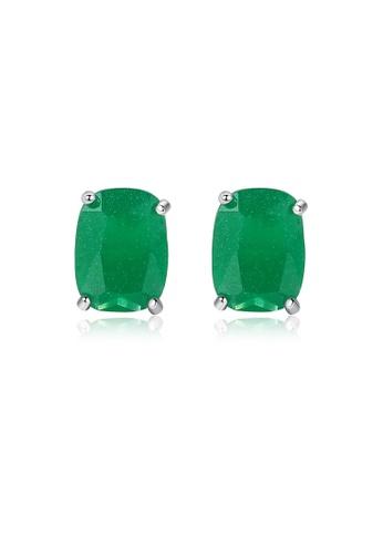SUNRAIS silver High-end Silver S925 silver fashion earrings 8F937AC55BF654GS_1