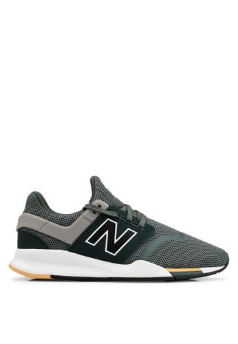 New Balance grey 247 V2 Lifestyle Shoes 4D7C5SHDEFBBDAGS_1