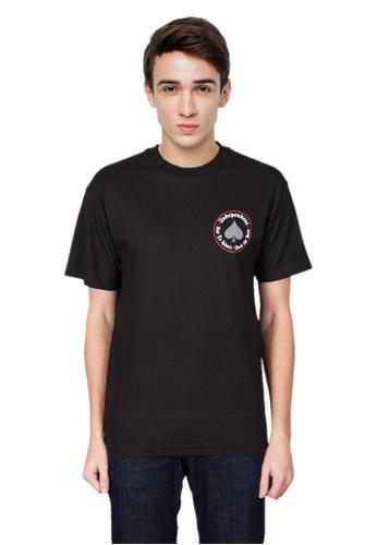 43d567c44154 Thrasher black Thrasher x Independent Oath T- Shirt Black C5483AA39CCAA9GS 1