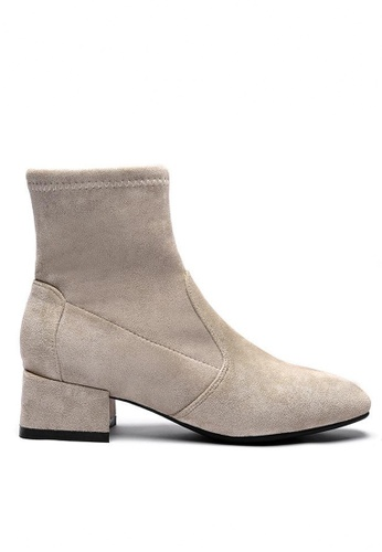 Twenty Eight Shoes Synthetic Suede Ankle Boots 2028-1 7A1F9SH7C0E927GS_1