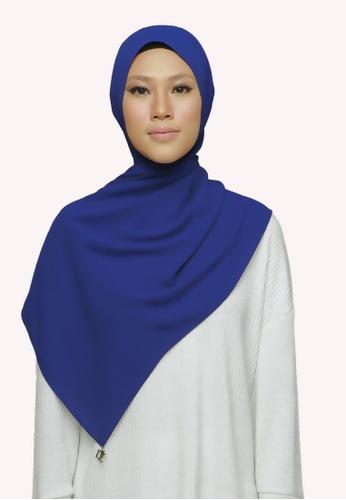 De Leuca blue De Leuca Jovie Shawl - Royal Blue 5A339ACF638D86GS_1