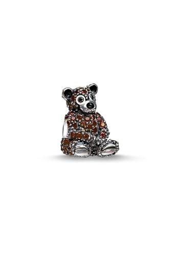 "THOMAS SABO brown Bead ""Brown Bear"" CD1EAAC3B8F88FGS_1"