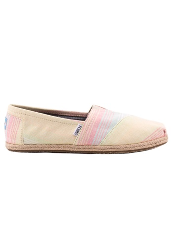TOMS multi TOMS - Classic Lime Summer Stripes MN AE0D6SHEF0B72DGS_1