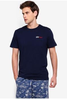 f4c389de GAP navy Gap Orig Pocket T-Shirt 89B1CAA9687504GS_1