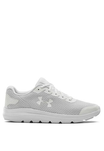 Under Armour white UA Surge 2 Sneakers BE4C9SH4535CCFGS_1
