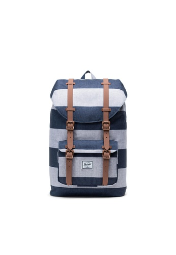 bb19826402d Herschel blue Herschel Little America M (Border Stripe Saddle Brown) - 17L  EBA79AC21D4BF6GS 1