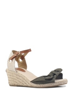 652f9473a6d Dorothy Perkins Olive Rowena Peep Espadrille Wedges S  46.90. Sizes 3 4 5 6  7