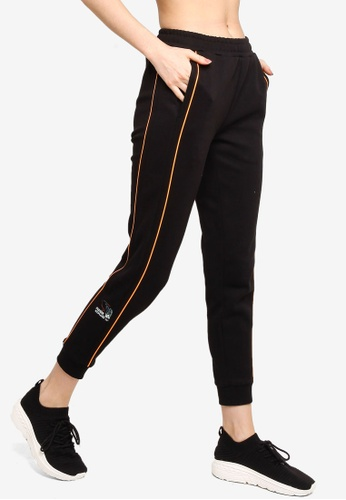 361° black Cross Training Knit Pants 85843AA9ED0BF8GS_1