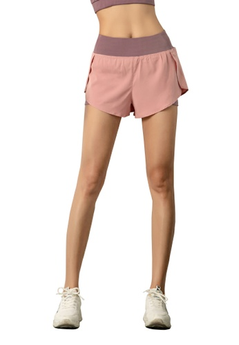 HAPPY FRIDAYS Women's Running Sports Cover Shorts DK07 C0C37AA0CE1711GS_1