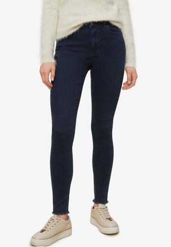 Dorothy Perkins navy Black Alex Raw Hem Jeans 568F1AA76FD580GS_1