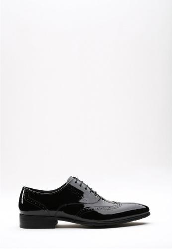 Kings Collection 黑色 埃弗雷特漆皮鞋 A6A73SHD10565FGS_1