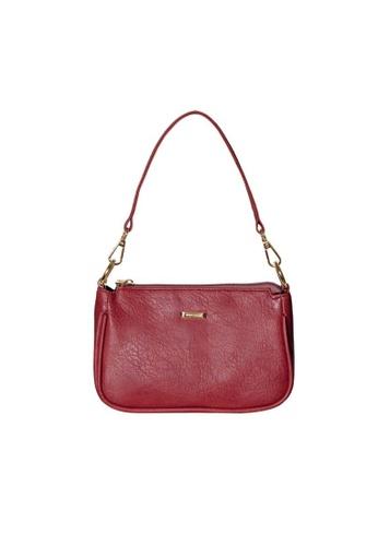 Verchini red Verchini  Buckle Shoulder Bag E4F14ACA92234AGS_1