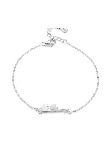 SUNRAIS silver Premium Silver S925 Silver Bird Bracelet C3E01AC37A714FGS_1