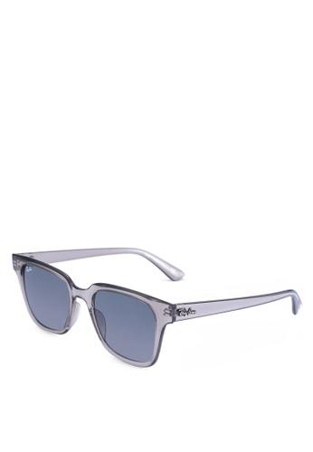 Ray-Ban grey Injected Unisex Sunglasses 73CD5GL3766B2DGS_1