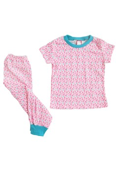 Floral Pajama Set for Girls