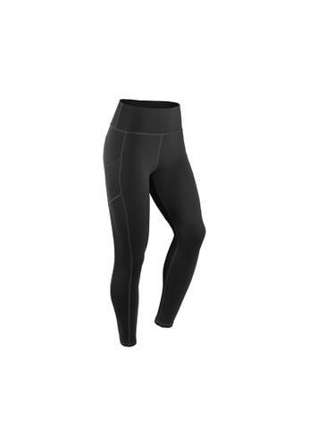 VIVIESTA SPORT black Heart Shape Workout Sports Leggings BB6BCAAE596C24GS_1