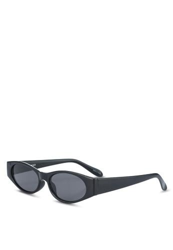 Mango black Acetate Frame Sunglasses 43D95GL5E72D80GS_1