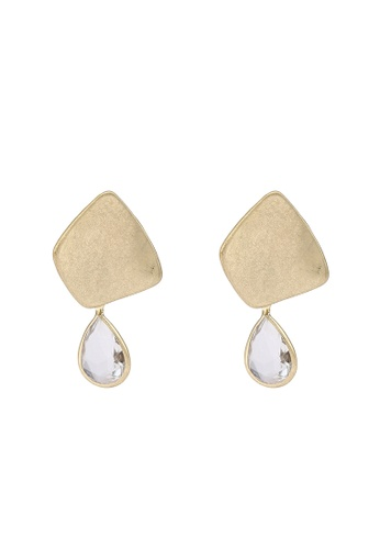 niko and ... gold Stone Drop Earrings 96D82ACFEF2D7DGS_1