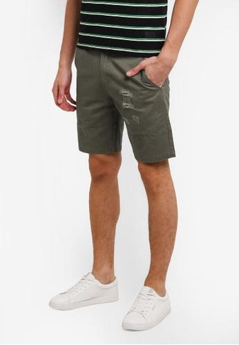 Flesh IMP green Scrotch Hader Shorts FL064AA0RNAKMY_1