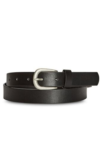 LC Waikiki black Faux Leather Belt B7944AC8C5B08CGS_1