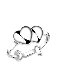 Twin Heart Child's Ring