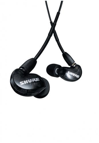 Shure black Shure AONIC 215 Sound Isolating™ Earphones [NEW SE215 UNI PACKAGING] - Black 85E6FESBFD43D8GS_1